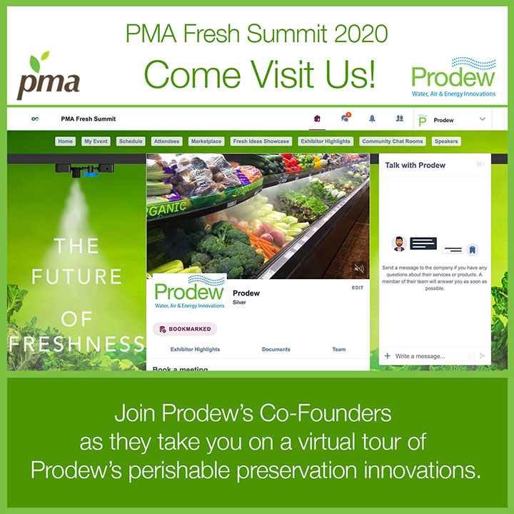Come visit Prodew's virtual booth at PMA 2020!
